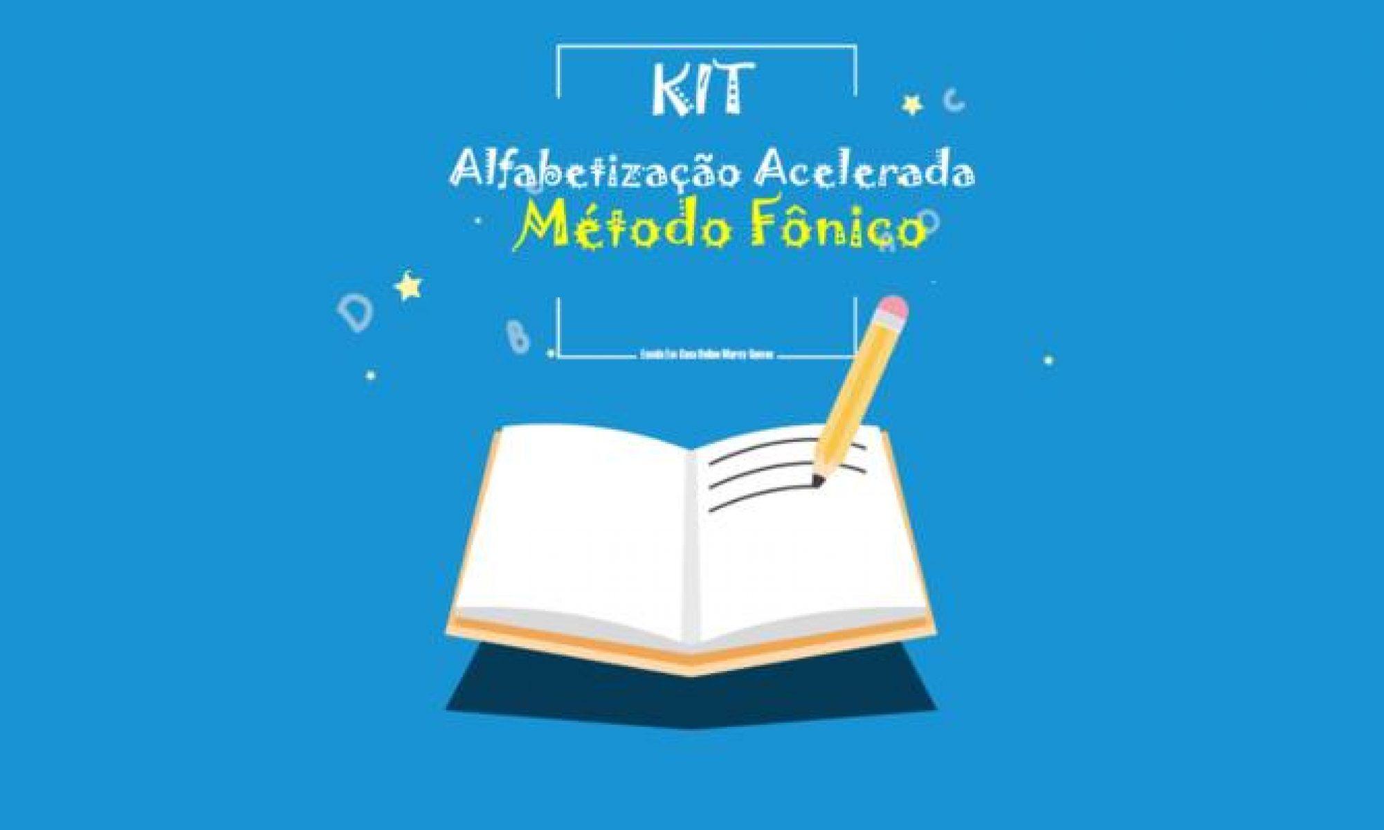 Kit Alfabetização Acelerada pelo Método Fônico.